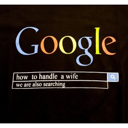 Google how to handle a wife